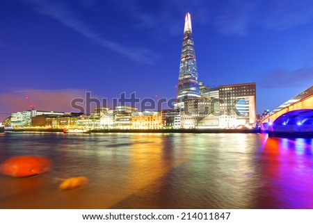 London skyline, UK, England - stock photo