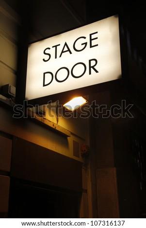 London theatre - stock photo