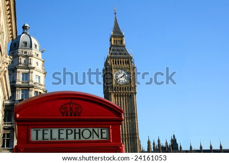 London, typical view - stock photo