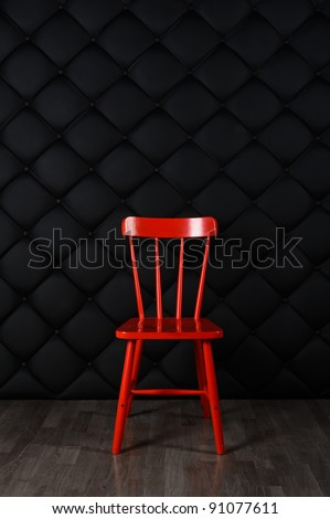 chair against wall stock photos images pictures shutterstock. Black Bedroom Furniture Sets. Home Design Ideas