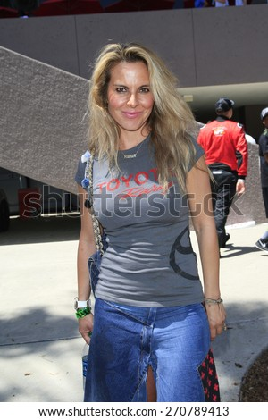 LONG BEACH - APR 18: Kate Del Castillo at the Toyota Grand Prix Of Long Beach Pro/Celebrity Race - Race Day on April 18, 2015 in Long Beach, California - stock photo