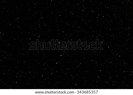 Look at the starry sky on a dark night. - stock photo