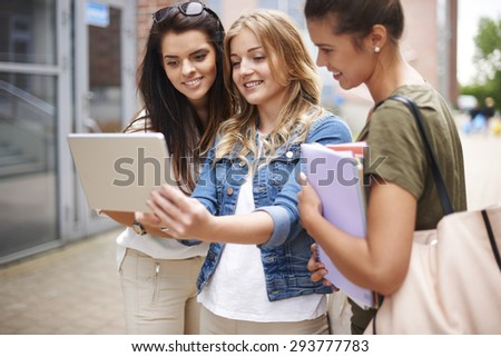 Look for this! The results of exams aren't so bad  - stock photo