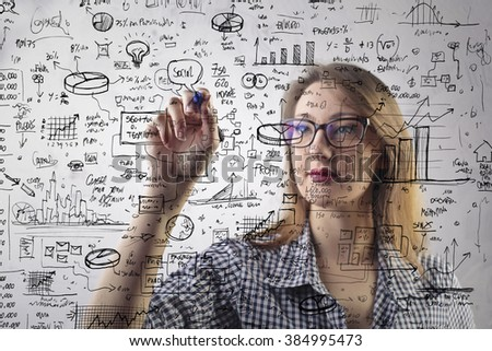 Looking for a solution - stock photo