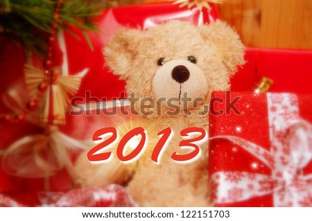looking forwad to 2013 - stock photo