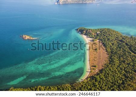 Looklom Beach, Samaesarn Island, Thailand  - stock photo