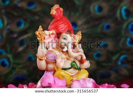 Lord Ganesha - stock photo