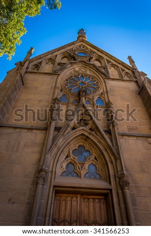 Loretto Chapel New Mexico - stock photo