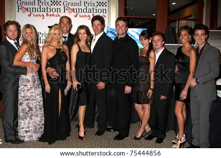 LOS ANGELES - APR 15: Celebrity Drivers attending the 2011 Toyota Grand Prix Charity Ball at Westin Long Beach on April 15, 2011 in Long Beach, CA - stock photo