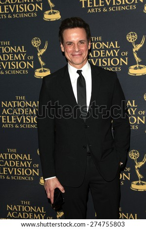 LOS ANGELES - APR 24: Christian LeBlanc at The 42nd Daytime Creative Arts Emmy Awards Gala at the Universal Hilton Hotel on April 24, 2015 in Los Angeles, California - stock photo
