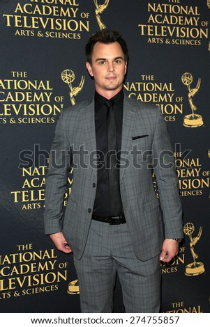 LOS ANGELES - APR 24: Darin Brooks at The 42nd Daytime Creative Arts Emmy Awards Gala at the Universal Hilton Hotel on April 24, 2015 in Los Angeles, California - stock photo