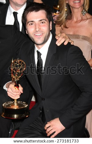 LOS ANGELES - APR 26:  Freddie Smith at the 2015 Daytime Emmy Awards at the Warner Brothers Studio Lot on April 26, 2015 in Los Angeles, CA - stock photo