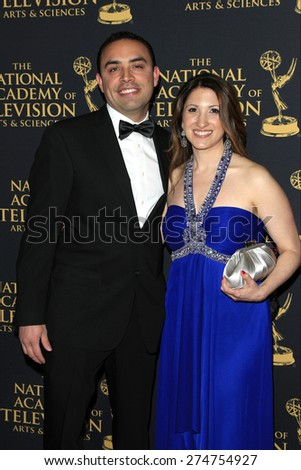 LOS ANGELES - APR 24: Jaclynn Demas at The 42nd Daytime Creative Arts Emmy Awards Gala at the Universal Hilton Hotel on April 24, 2015 in Los Angeles, California - stock photo