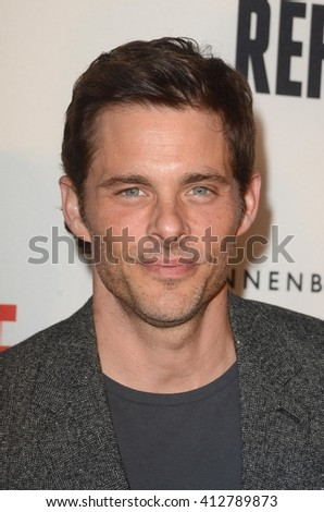 LOS ANGELES - APR 21:  James Marsden at the Annenberg Space for Photography presents REFUGEE at the Annenberg Space for Photography on April 21, 2016 in Century City, CA - stock photo