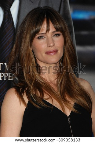LOS ANGELES - APR 7:  Jennifer Garner arrives at the DRAFT DAY LOS ANGELES PREMIERE   on April 7, 2014 in Westwood, CA                 - stock photo