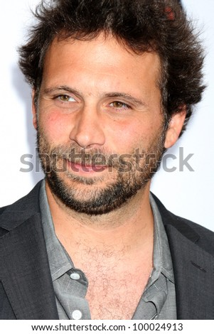 "LOS ANGELES - APR 12:  Jeremy Sisto arrives at Warner Brothers ""Television: Out of the Box"" Exhibit Launch at Paley Center for Media on April 12, 2012 in Beverly Hills, CA - stock photo"