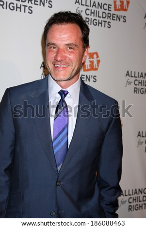 LOS ANGELES - APR 7:  Tim DeKay at the Alliance for Children's Rights' 22st Annual Dinner at Beverly Hilton Hotel on April 7, 2014 in Beverly Hills, CA - stock photo