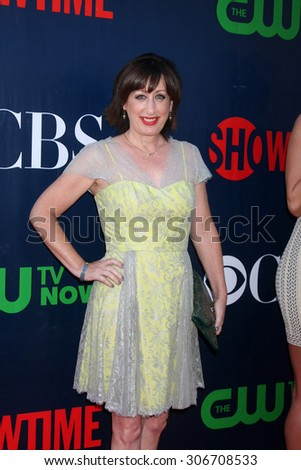 LOS ANGELES - AUG 10:  Beth Hall at the CBS TCA Summer 2015 Party at the Pacific Design Center on August 10, 2015 in West Hollywood, CA - stock photo