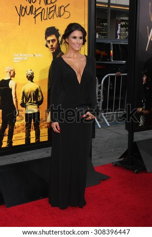 "LOS ANGELES - AUG 20:  Brittany Furlan at the ""We are Your Friends"" Los Angeles Premiere at the TCL Chinese Theater on August 20, 2015 in Los Angeles, CA - stock photo"