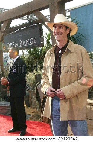 LOS ANGELES - AUG 11: Craig Storper at the 'Open Range' premiere on August 11, 2003 in Los Angeles, California - stock photo