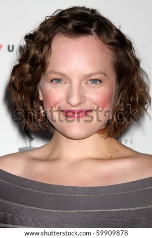 LOS ANGELES - AUG 27:  Elisabeth Moss arrives at the 62nd Primetime Emmy Awards Performers Nominee Reception at Spectra - Pacific Design Center on August 27, 2010 in Los Angeles, CA - stock photo