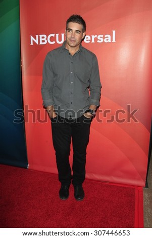 LOS ANGELES - AUG 13:  Galen Gering at the NBCUniversal 2015 TCA Summer Press Tour at the Beverly Hilton Hotel on August 13, 2015 in Beverly Hills, CA - stock photo