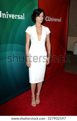 LOS ANGELES - AUG 12:  Jaimie Alexander at the NBCUniversal 2015 TCA Summer Press Tour at the Beverly Hilton Hotel on August 12, 2015 in Beverly Hills, CA - stock photo