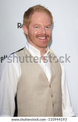 LOS ANGELES - AUG 23: Jesse Tyler Ferguson at the premiere of RADiUS-TWC's 'Bachelorette' at ArcLight Cinemas on August 23, 2012 in Los Angeles, California - stock photo