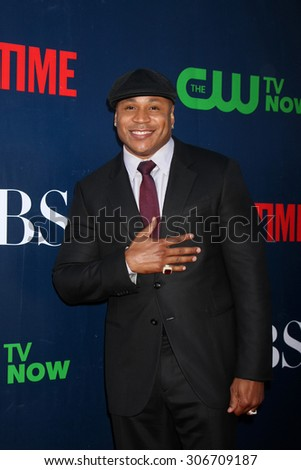 LOS ANGELES - AUG 10:  LL Cool J, aka James Todd Smith at the CBS TCA Summer 2015 Party at the Pacific Design Center on August 10, 2015 in West Hollywood, CA - stock photo