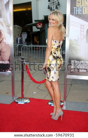"""LOS ANGELES - AUG 23:  Malin Akerman arrives at the """"Going the Distance"""" Los Angeles Premiere at Grauman's Chinese Theater on August 23, 2010 in Los Angeles, CA - stock photo"""