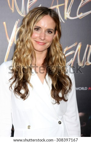 "LOS ANGELES - AUG 20:  Meaghan Oppenheimer at the ""We are Your Friends"" Los Angeles Premiere at the TCL Chinese Theater on August 20, 2015 in Los Angeles, CA - stock photo"