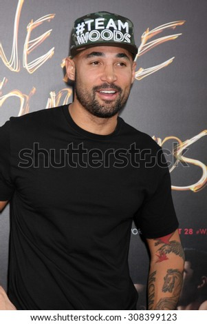 "LOS ANGELES - AUG 20:  Michael Woods at the ""We are Your Friends"" Los Angeles Premiere at the TCL Chinese Theater on August 20, 2015 in Los Angeles, CA - stock photo"