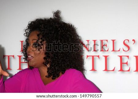 """LOS ANGELES - AUG 12:  Oprah Winfrey at the """"Lee Daniels' The Butler"""" LA Premiere at the Regal 14 Theaters on August 12, 2013 in Los Angeles, CA - stock photo"""