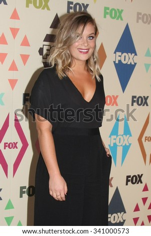 LOS ANGELES - AUG 6:  Rachel Keller at the FOX TCA Summer 2015 All-Star Party at the Soho House on August 6, 2015 in West Hollywood, CA - stock photo