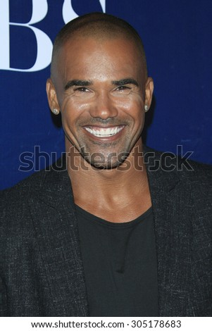 LOS ANGELES - AUG 10:  Shemar Moore at the CBS TCA Summer 2015 Party at the Pacific Design Center on August 10, 2015 in West Hollywood, CA - stock photo