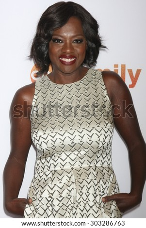 LOS ANGELES - AUG 4:  Viola Davis at the ABC TCA Summer Press Tour 2015 Party at the Beverly Hilton Hotel on August 4, 2015 in Beverly Hills, CA - stock photo