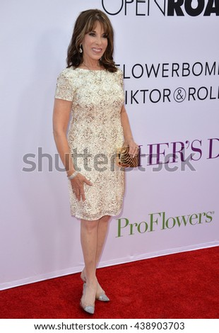 """LOS ANGELES, CA. April 13, 2016: Actress Kate Linder at the world premiere of """"Mother's Day"""" at the TCL Chinese Theatre, Hollywood. - stock photo"""