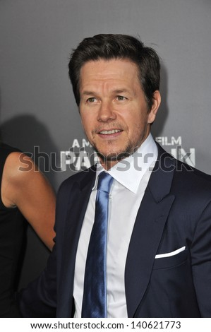 """LOS ANGELES, CA - APRIL 22, 2013: Mark Wahlberg at the Los Angeles premiere of his movie """"Pain & Gain"""" at the Chinese Theatre, Hollywood.  - stock photo"""
