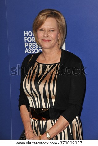 LOS ANGELES, CA - AUGUST 14, 2014: Actress JoBeth Williams at the Hollywood Foreign Press Association's annual Grants Banquet at the Beverly Hilton Hotel. - stock photo
