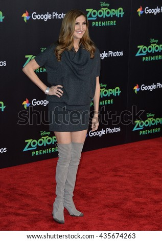 "LOS ANGELES, CA - FEBRUARY 17, 2016: Actress Heather McDonald at the premiere of Disney's ""Zootopia"" at the El Capitan Theatre, Hollywood.