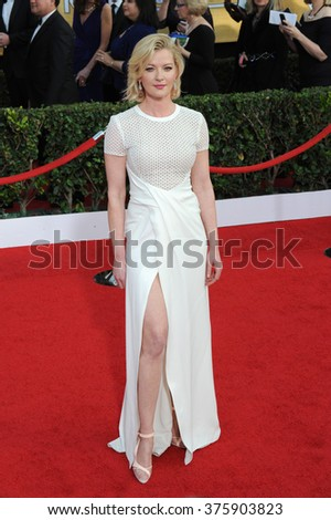 LOS ANGELES, CA - JANUARY 18, 2014: Gretchen Mol at the 20th Annual Screen Actors Guild Awards at the Shrine Auditorium.