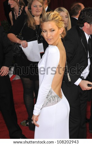 LOS ANGELES, CA - JANUARY 23, 2010: Kate Hudson at the 16th Annual Screen Actor Guild Awards at the Shrine Auditorium. - stock photo