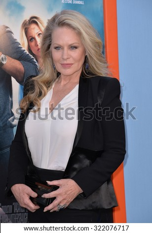 """LOS ANGELES, CA - JULY 27, 2015: Beverly D'Angelo at the premiere of her movie """"Vacation"""" at the Regency Village Theatre, Westwood. - stock photo"""