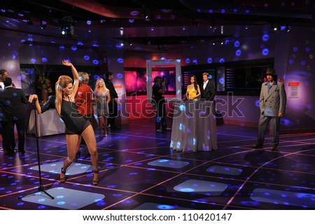 LOS ANGELES, CA - JULY 21, 2009: General atmosphere - grand opening of Madame Tussauds Hollywood. - stock photo
