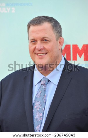 "LOS ANGELES, CA - JUNE 30, 2014: Billy Gardell at the premiere of ""Tammy"" at the TCL Chinese Theatre, Hollywood.  - stock photo"