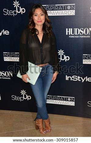 LOS ANGELES, CA - JUNE 5, 2015: Catherine Haena Kim at the Step Up Women's Network 12th Annual Inspiration Awards at the Beverly Hilton Hotel..  - stock photo
