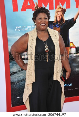 "LOS ANGELES, CA - JUNE 30, 2014: Cleo King at the premiere of ""Tammy"" at the TCL Chinese Theatre, Hollywood.  - stock photo"