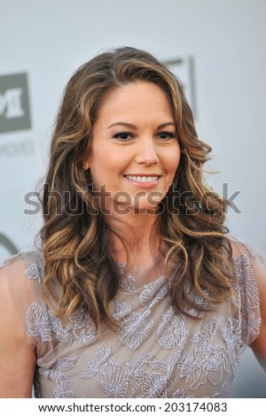 LOS ANGELES, CA - JUNE 5, 2014: Diane Lane at the 2014 American Film Institute's Life Achievement Awards honoring Jane Fonda, at the Dolby Theatre, Hollywood.  - stock photo