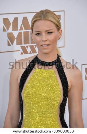 "LOS ANGELES, CA - JUNE 25, 2015: Elizabeth Banks at the world premiere of her movie ""Magic Mike XXL"" at the TCL Chinese Theatre, Hollywood.  - stock photo"
