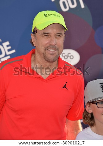 """LOS ANGELES, CA - JUNE 9, 2015: Kevin Nealon at the Los Angeles premiere of Disney-Pixar's """"Inside Out"""" at the El Capitan Theatre, Hollywood.  - stock photo"""